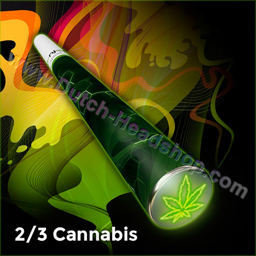CBD E-cigarette 150mg CBD disposable cannabis flavor (E-njoint)