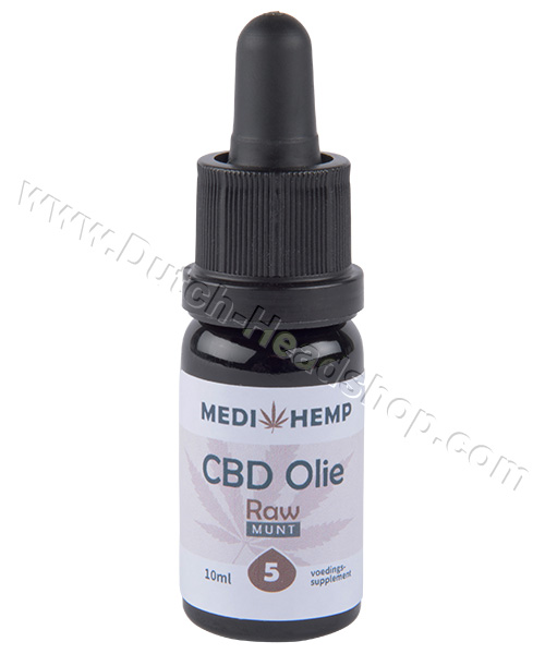 CBD  Olie (Medihemp)  5% Raw CBD 10ml