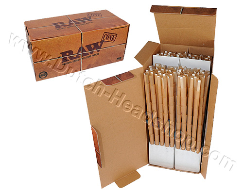 Cones King Size joint tubes (Raw) 109mm 800 pieces