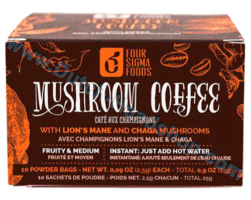 Mushroom Coffee with Lion's Mane (FourSigmatic) 250mg 10 packets