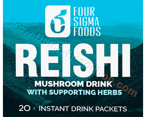 Reishi mushroom tea (FourSigmatic) 1000mg 20 packets