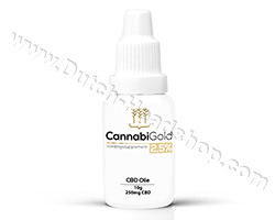 CBD oil (CannabiGold) 2,5% 250mg 10gr