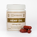 CBD Capsules Hempseed Oil (Endoca) 1500mg
